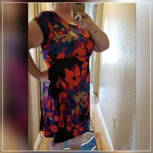 Liz Lange Maternity/Plus Size XXL Colorful Dress